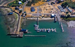 Port of Willapa Harbor marina, Tokeland, 2007
